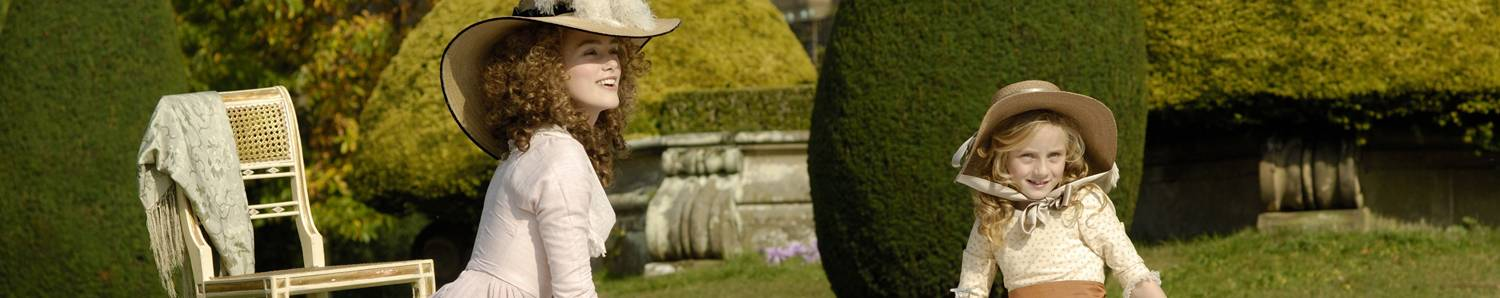 Chatsworth - Derbyshire - The Duchess (c)Pathe images (2)