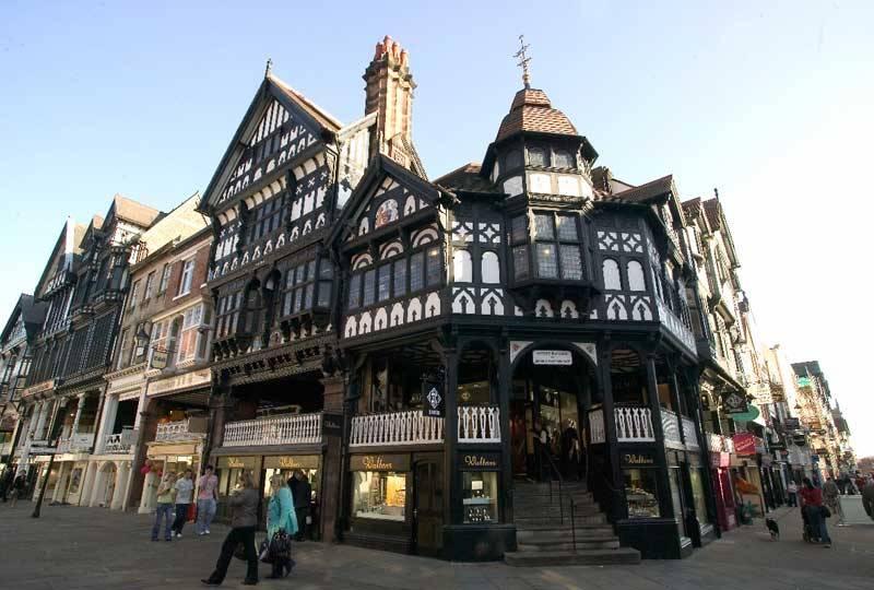 Cheshire Rows, Chester. © Marketing Cheshire