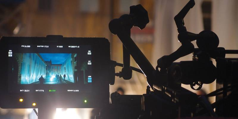 A film camera in Bradford