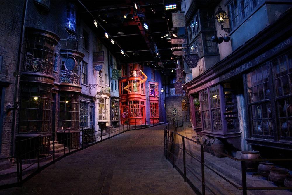 Diagon Alley, Harry Potter Studio Tour