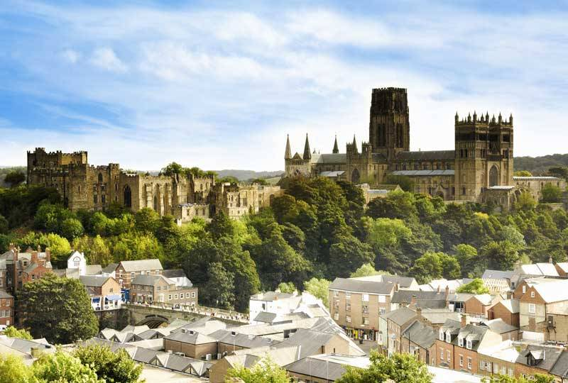 Durham City skyline.