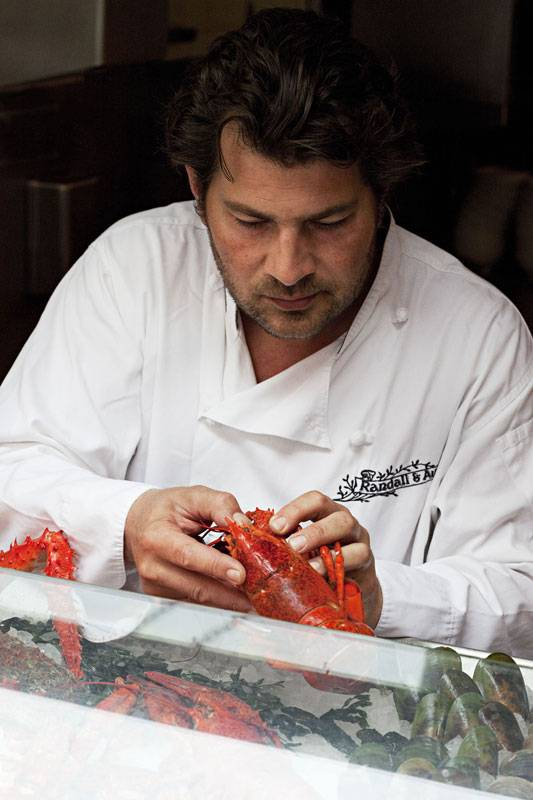 Chef Ed Baines, who will be at the Swanage Fish Festival this weekend