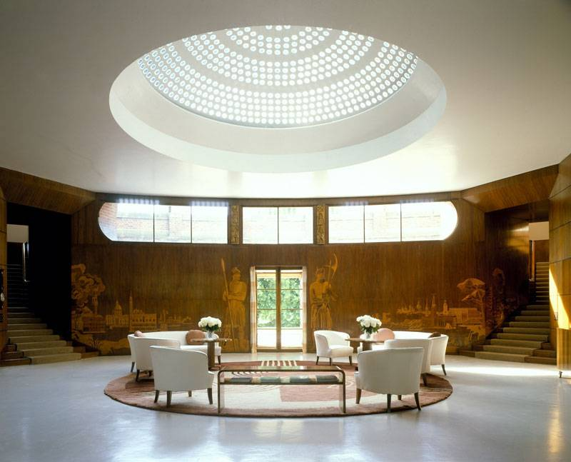 the Living Room in Eltham Palace, Greenwich