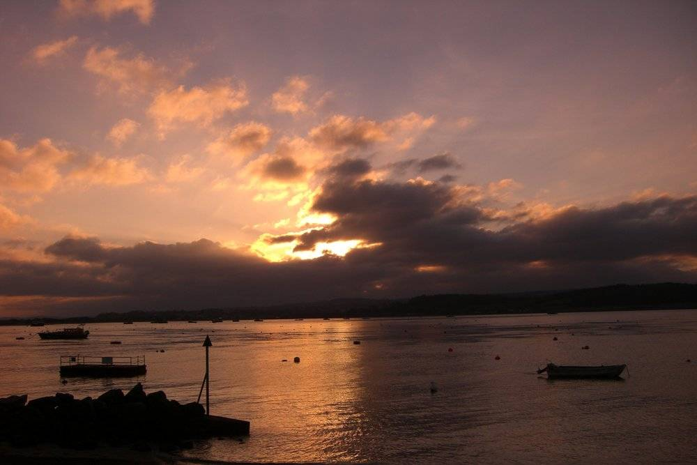 Exe Estuary, home of the Exmouth Mussel Festival