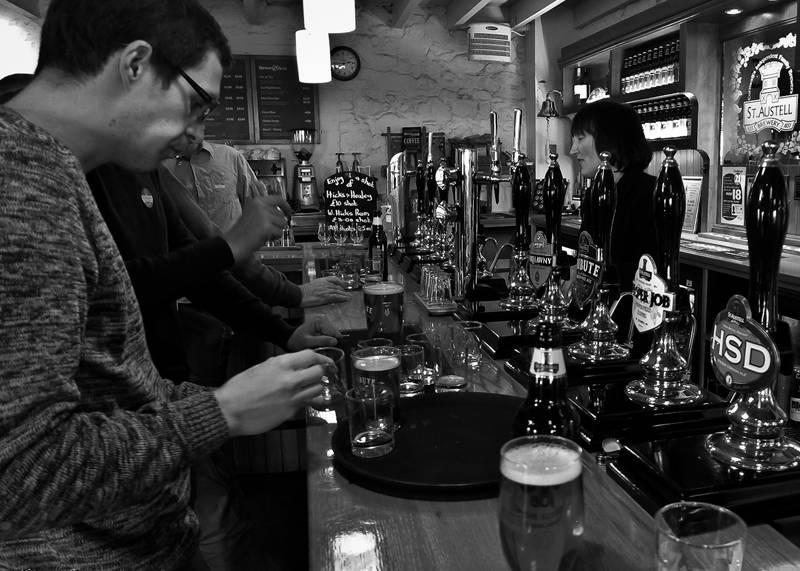 St Austell Brewery Bar