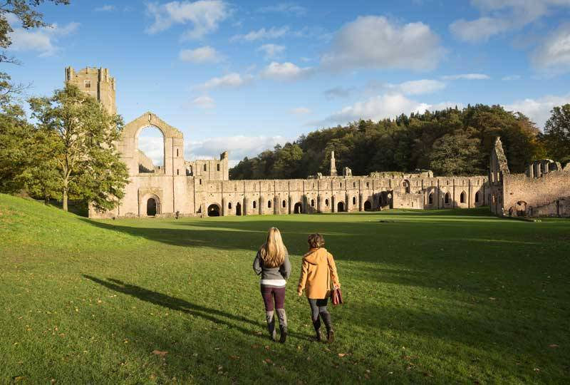 Autumn at Fountains Abbey & Studley Royal.
