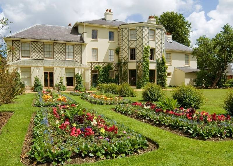 Down House in Kent, the home of Charles Darwin and his family in the 19th century.
