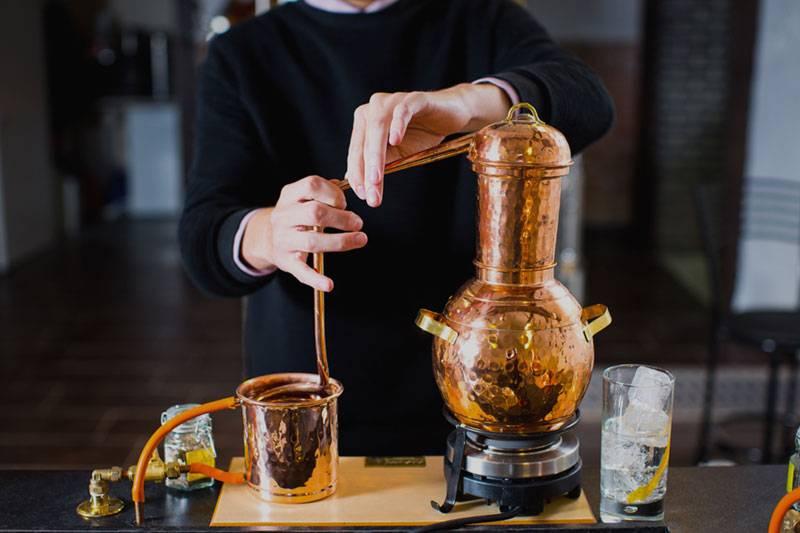 A gin masterclass