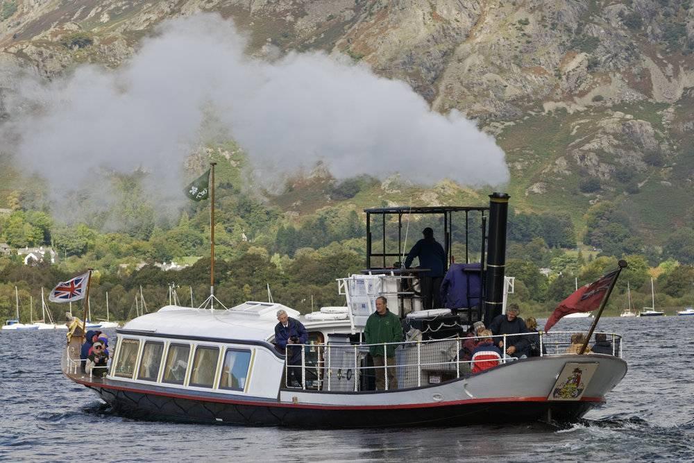 Gondola, a Victorian Steam-Powered Yacht