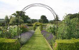 Hergest Croft Gardens, Herefordshire - Kitchen Garden July (c) VisitEngland