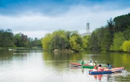 Highfields Park, Nottingham (c) VisitEngland