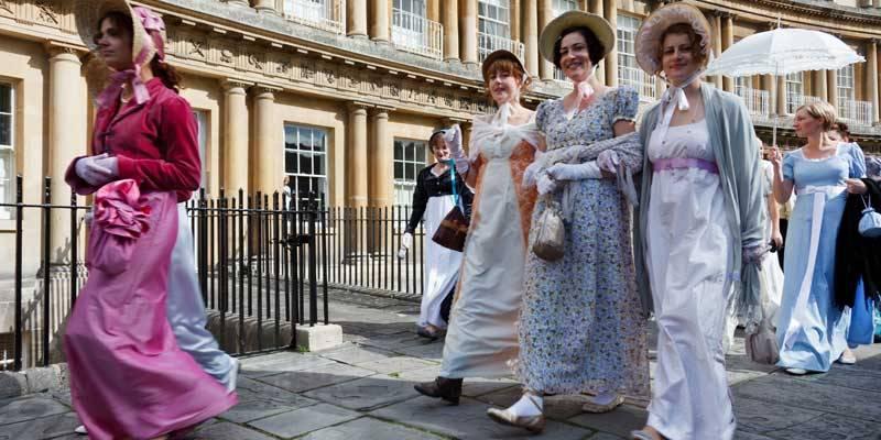 Jane Austen Festival, Bath.