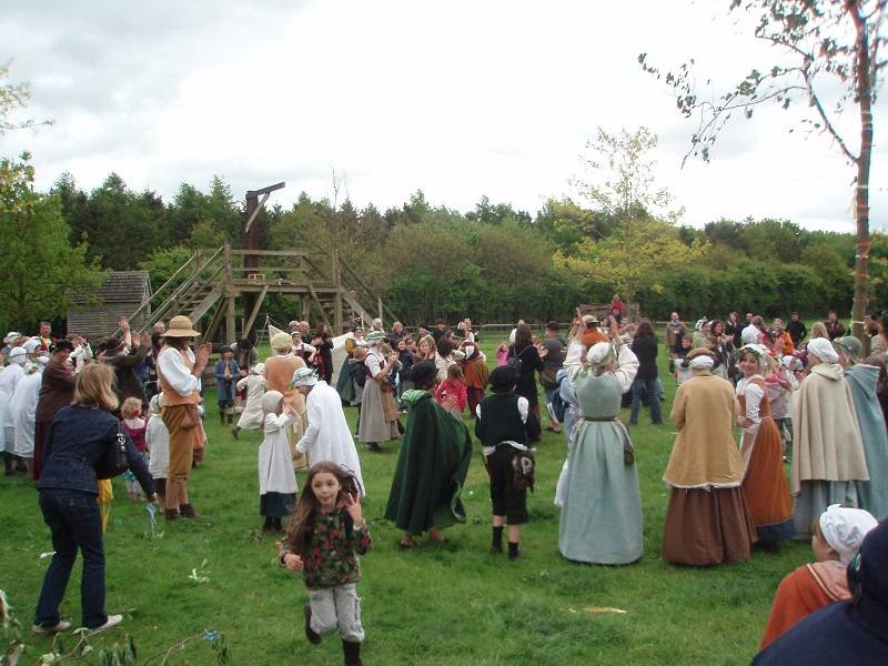 Kentwell Tudor May Day Celebrations
