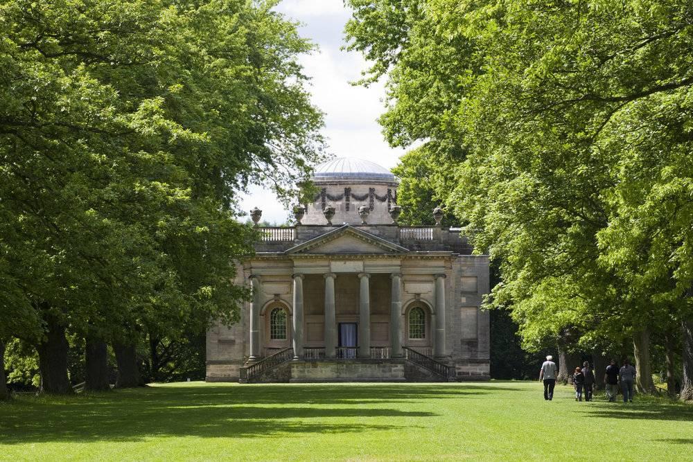 Gibside, Walk to Palladian Chapel