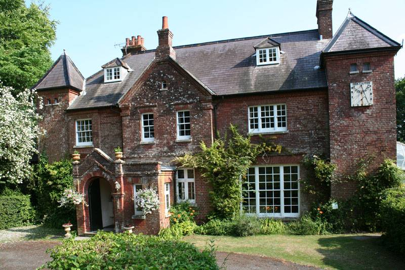 Exterior of Max Gate in Dorset, the former home of novelist Thomas Hardy