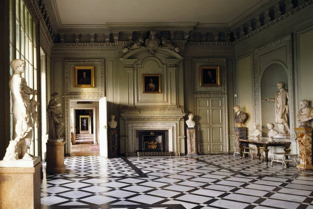Petworth House Marble Hall