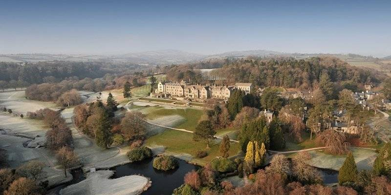 Bovey Castle from the Air