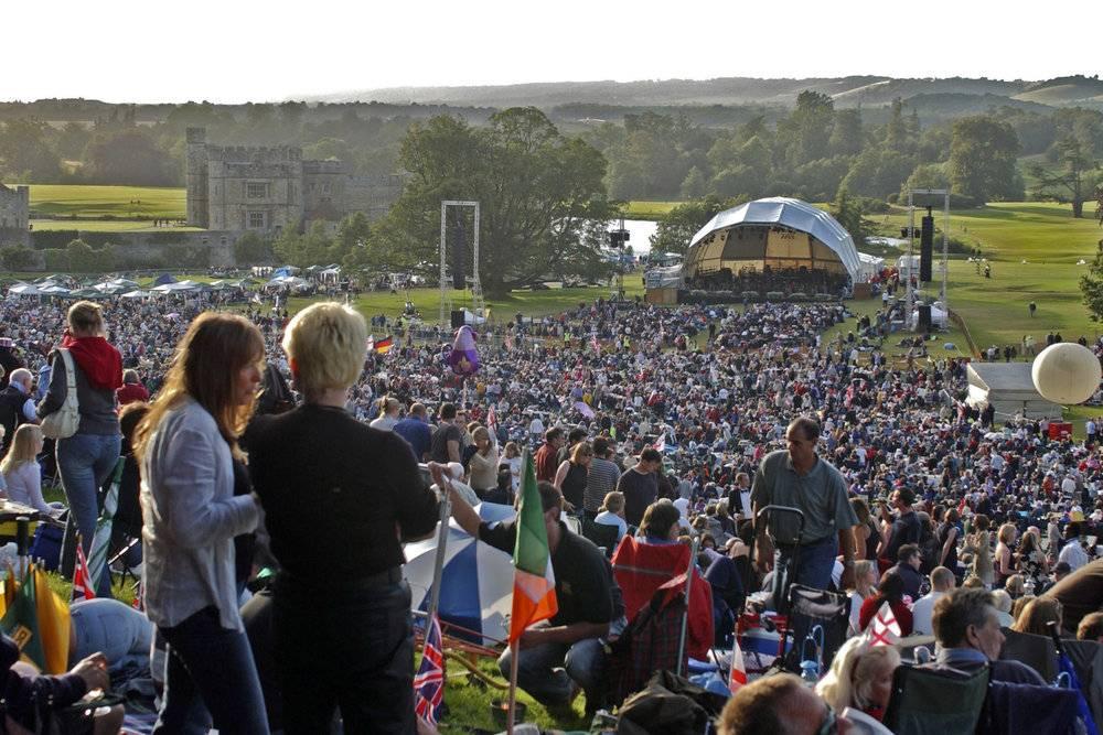 Concert at Leeds Castle