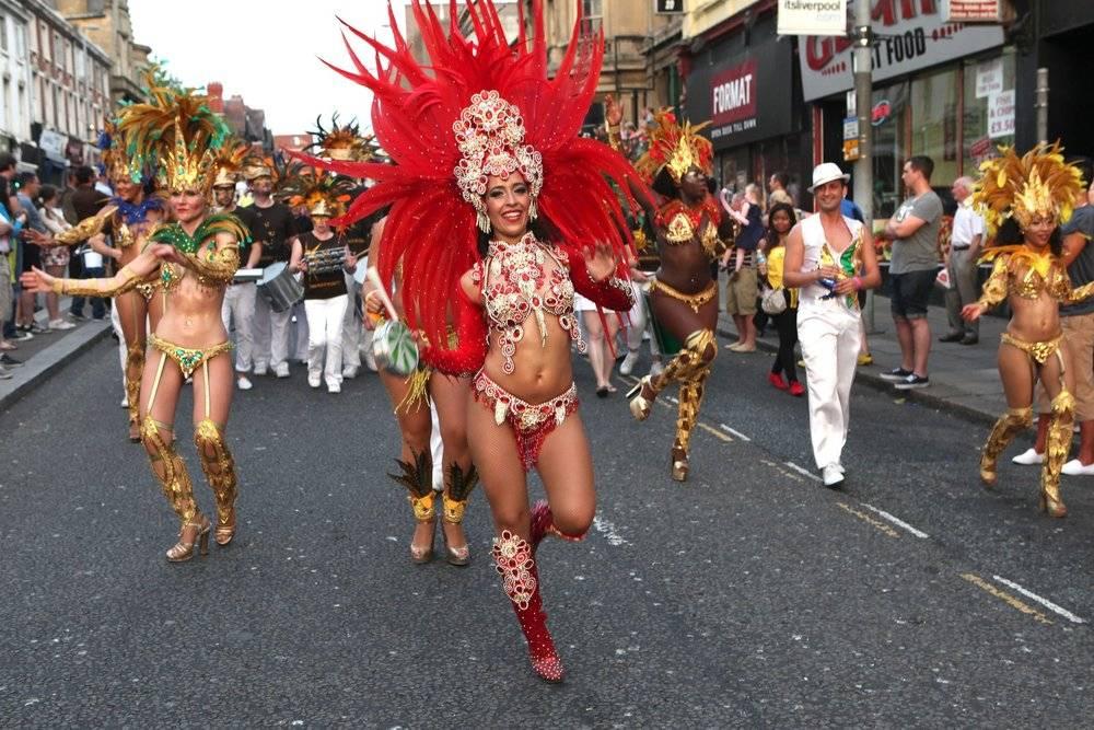 Brazilica Dancers in the Carnival
