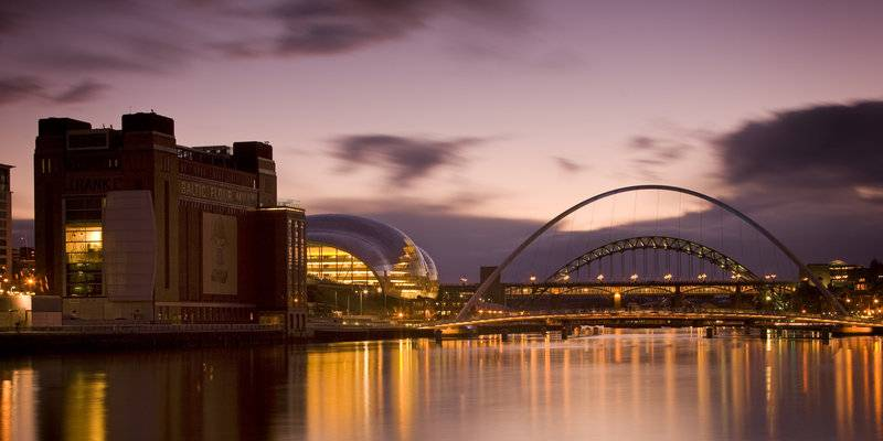 BALTIC Centre and Sage Gateshead
