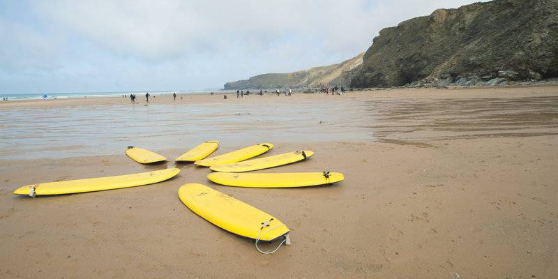 Surfboards at Watergate © AdamGibbard, VisitEngland