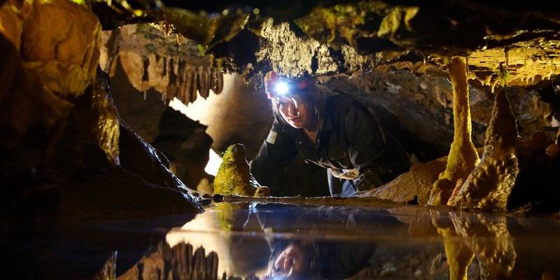 Caving in Cheddar Caves © VisitCheddar