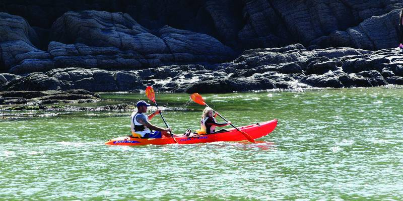 Kayaking on Exmoor © VisitExmoor