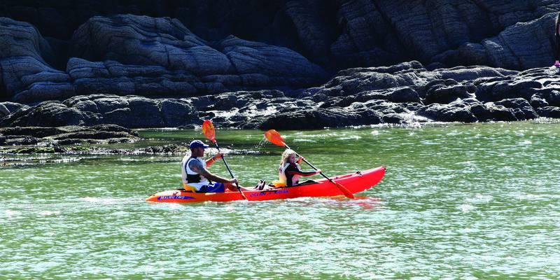 Kayakken in Exmoor © VisitExmoor