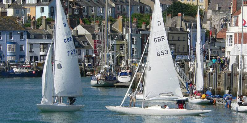 Olympic Sailing in Weymouth © VisitDorset