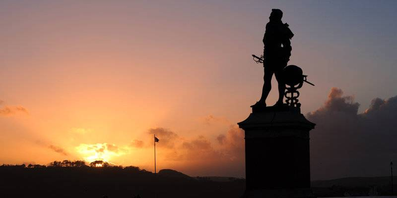 Statue of Sir Francis Drake, Plymouth