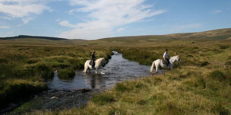 Paardrijden in Devon © VisitDevon