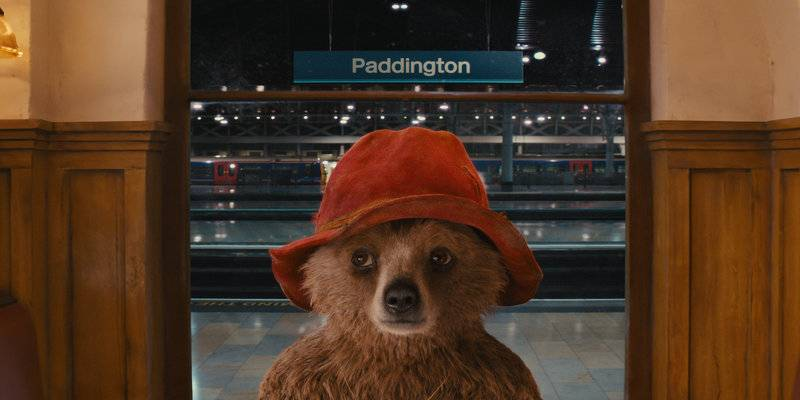Paddington Bear at Paddington