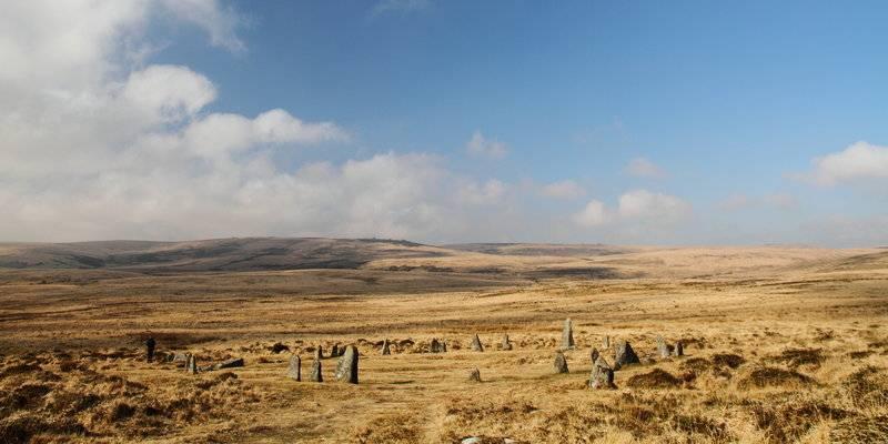 Scorhill Stone Circle, Dartmoor