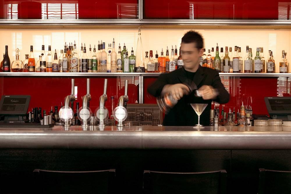 Bartender at the Malmaison Hotel, Birmingham