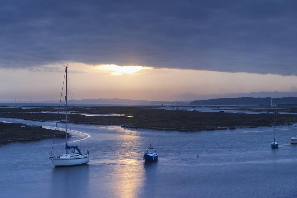 Coast of Isle of Wight