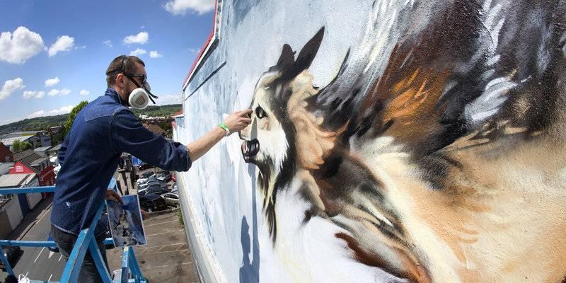 Upfest Street Art Festival in Bristol © VisitBristol, Paul Box