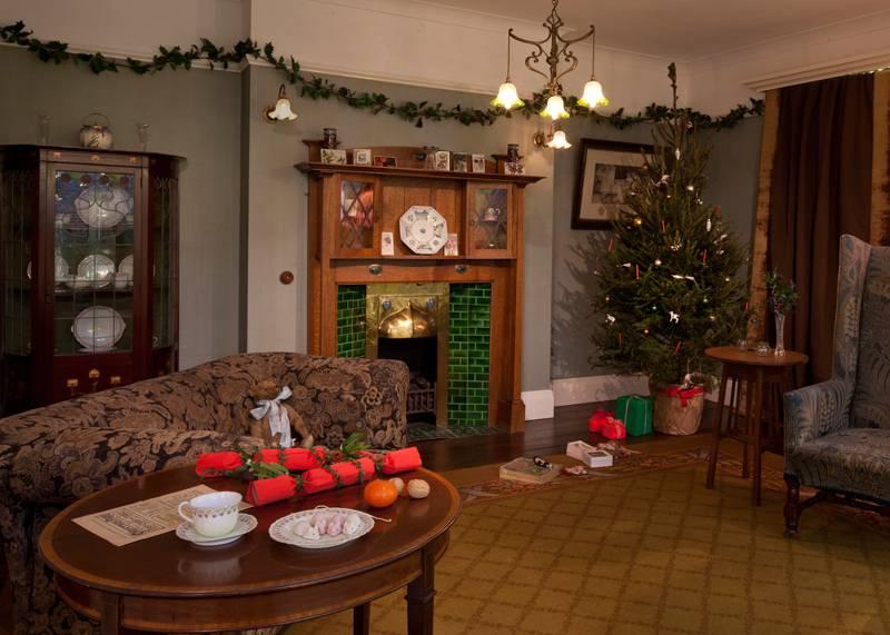 Seasonal Christmas Homes, Geffrye Museum