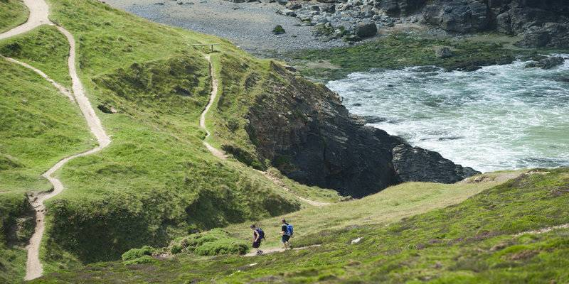 The South West Coast Path in Cornwall