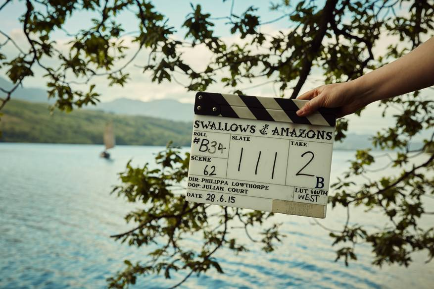 Filming Swallows and Amazons