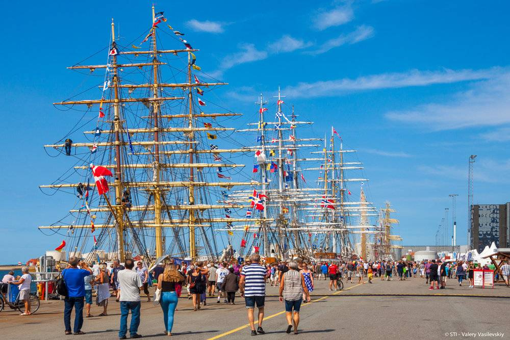 Tall Ships Regatta, Sail Training International