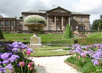 The Spanish Garden in Tatton Park (c) VisitEngland
