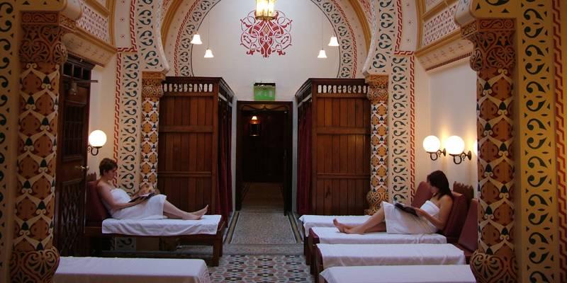 The Frigdarium Turkish Baths