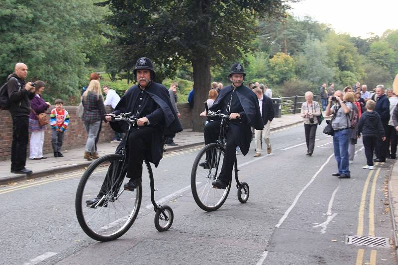 The Great Penny Farthing Spectacular, Shropshire
