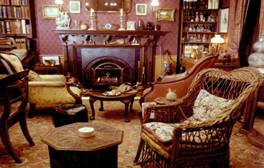 Sherlock Holmes' study at the Sherlock Holmes Museum