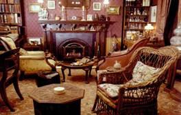 Sherlock Holmes' study at the Sherlock Holmes Museum