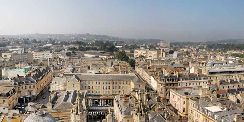 A picture of the Bath Skyline.