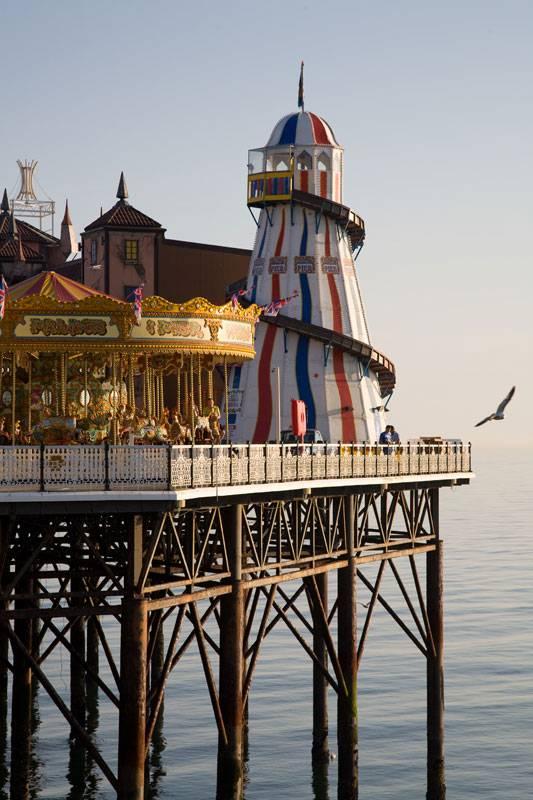 An effortlessly cool shot of Brighton Pier