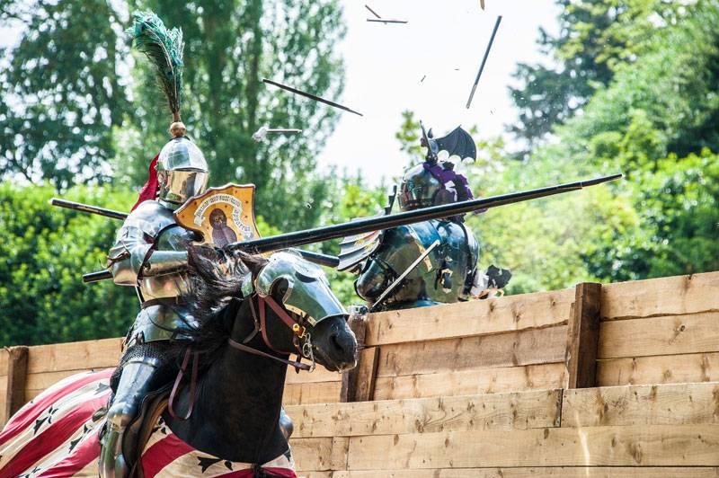 A Game of Thrones-esque scene at Arundel Castle