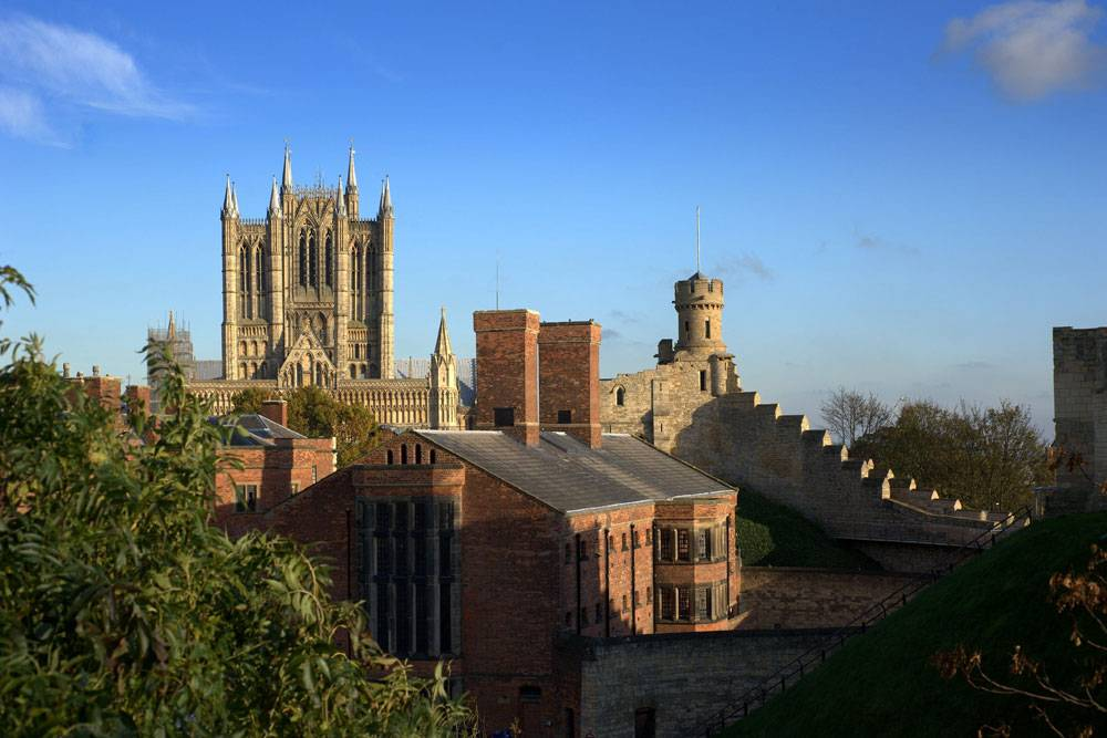 View of Lincoln Cathedral