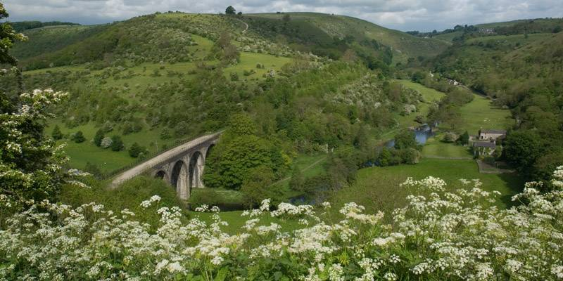 View from Monsal Head in the Peak District